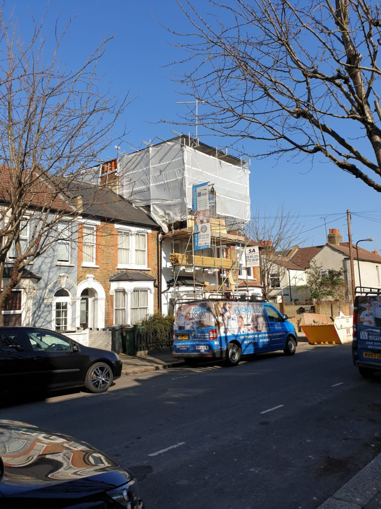 Works Commence at Walthamstow Loft Conversion Main Image